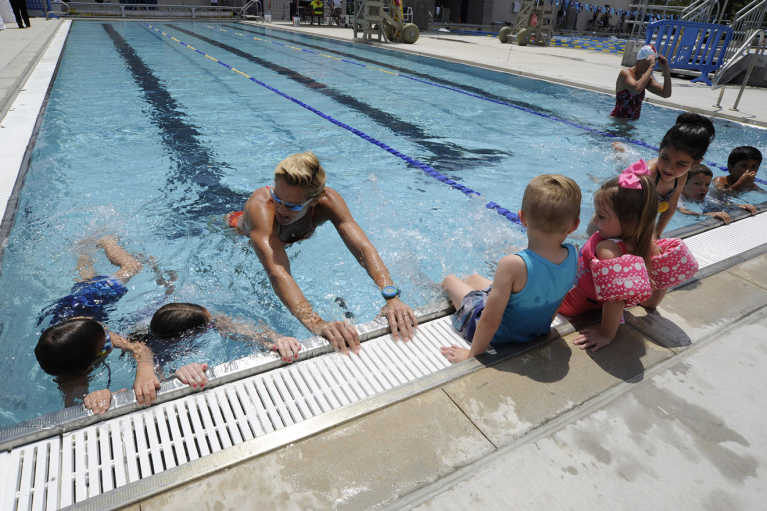 Olympian Dara Torres invites families to SwimToday